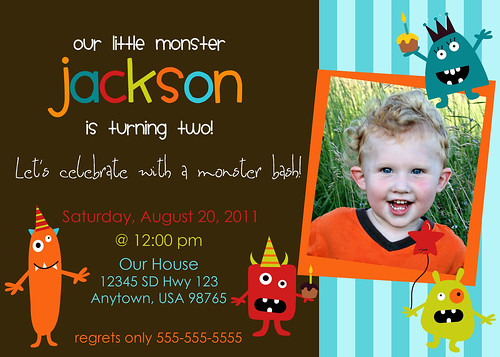 Jackson's 2nd Birthday blog copy