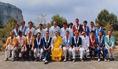 Guhyaloka people   ordinations with Bhante