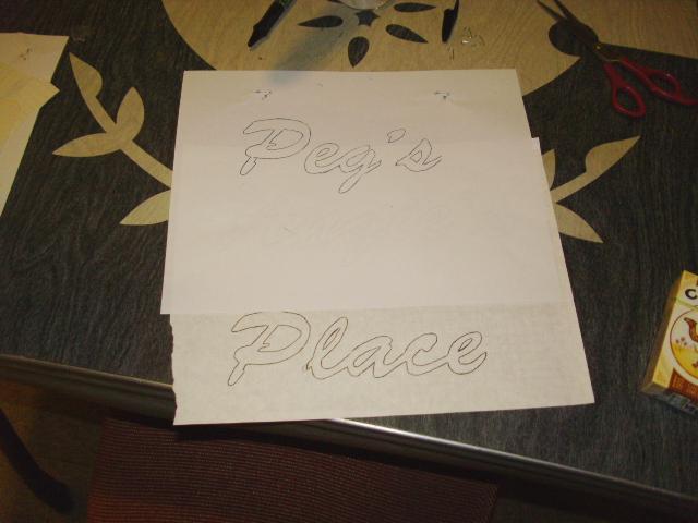 Peg's Place...
