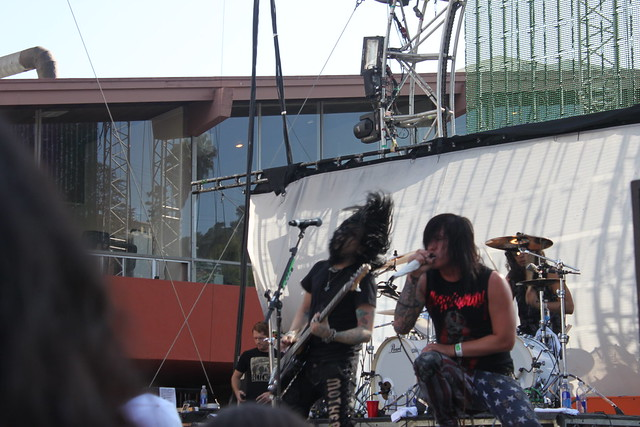 Escape the Fate @ Sunset Strip Music Festival 2011