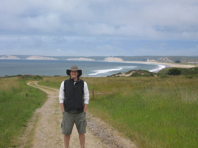 Happy to be in Point Reyes!