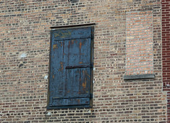 doors to nowhere (reallyboring) Tags: chicago 1932 illinois industrial tour unitedstates il disfigured portagepark forgottenchicago