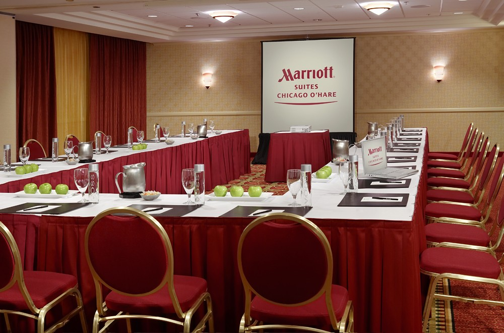 Marriott Suites Chicago O'Hare Hotel Meeting Facilities
