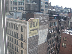 Hand-lettered ads from 100 years ago: view from 171-173 Madison Avenue (Jeffrey) Tags: newyorkcity newyork manhattan midtown flatiron flatirondistrict midtownsouth