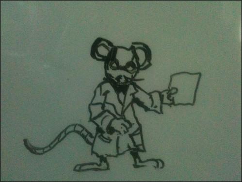 A lab rat?