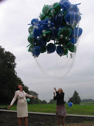 Diverse Ballonvissen Opening Vistrap Gemaal Moordrecht