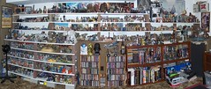 Star Wars Room - South Wall (Darth Ray) Tags: wall star display kenner wars hasbro