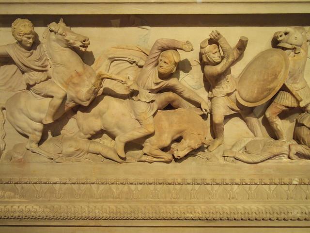 亞歷山大大帝石棺Alexander Sarcophagus