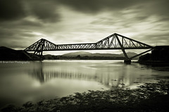 Connel Bridge (.Brian Kerr Photography.) Tags: bridge sky clouds canon landscape scotland highlands oban loch connel lochetive cantileverbridge fallsoflora connelbridge eos5dmkii briankerrphotography