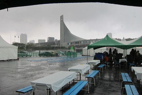世界旅行博2011 ゲリラ豪雨 #1