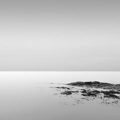 Kilve at Low Tide, Somerset (Weeman76) Tags: uk sea bw seascape southwest monochrome dawn mono still rocks somerset minimal minimalist kilve sigma1020mmf456exdchsm niksoft silverefexpro2