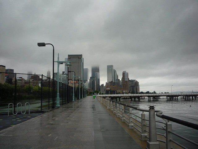 Hudson River Park, looking downtown