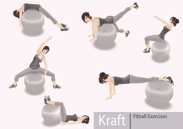 [Kraft] Fitball Workout