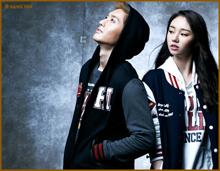 Kim Hyun Joong HangTen Fall & Winter 2011 Collection Photos