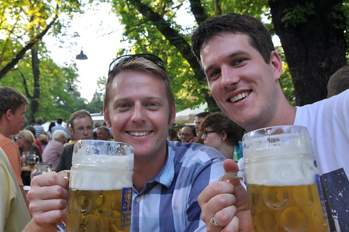 Munich - James and Rob