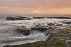 Campus Point cauldron (Marc Briggs) Tags: ocean sunset sea sand rocks waves pacific pacificocean ucsb campuspoint dsc5975c