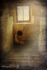 Dall'alto niente (*[ emi ]*) Tags: woman texture girl digital print effects shadows darkness mask photos ghost dream makeup surreal ombre shade tenebre fantasmi spiriti gekophotoclub