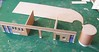 Kit building sequence photos 10 (kingsway john) Tags: building bus london scale st construction model garage transport models card kit oo gauge diorama kingsway staines 176 constructional londontransportmodel