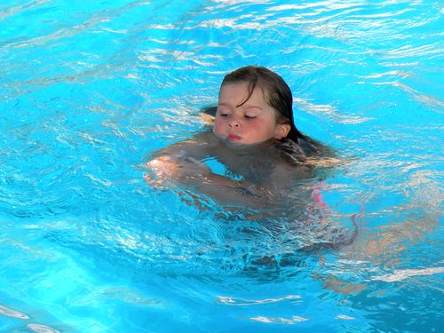 Ich kann schwimmen