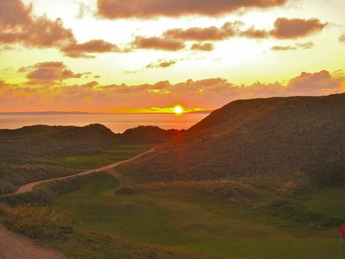 Ballybunion, Cashen Course Sunset
