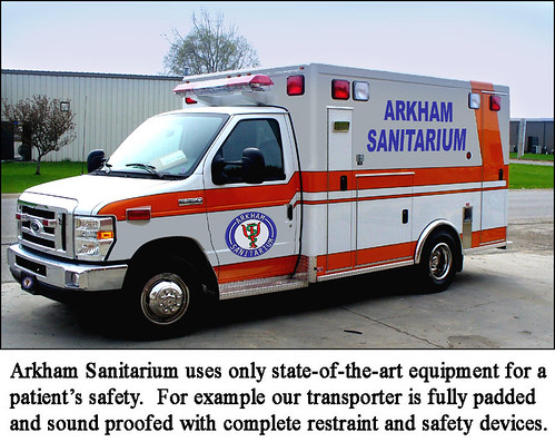 Arkham Sanitarium Ambulance