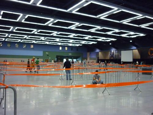 empty line hall