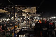 Jmi el-Fn (Lapatia) Tags: africa city sunset morocco marocco marrakech marrki jmi elfn