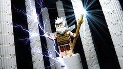 ZEUS GOD OF LIGHTNING (Legoagogo) Tags: england lego god zeus chichester moc afol legoagogo