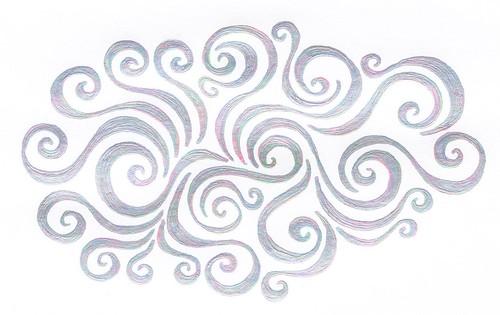 Primeval Swirls - Copyright R.Weal 2011