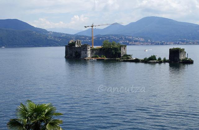 i castelli del cannero sul lago Maggiore