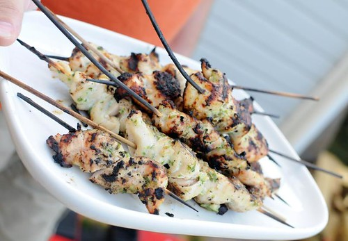 green-chickenskewers