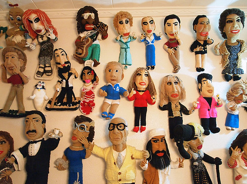 Los muñecos de ganchillo de la Sra. Lola