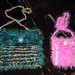 .two crocheted bags