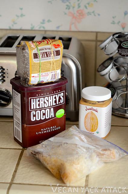 Ingredients for Dessert for Breakfast Smoothie