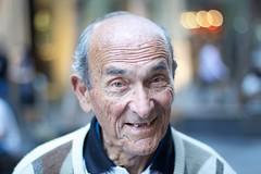 Stranger No. 2a/100 - Raymond (evansrobinson // Armchair Photography) Tags: man italian dancing teeth sydney australia stranger accordian pittstmall 100strangers evansrobinson