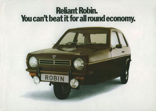 reliant robin advertisement
