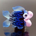 Single Bead : Blue Fish