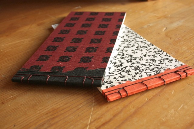 Set of Two Asian Notebooks