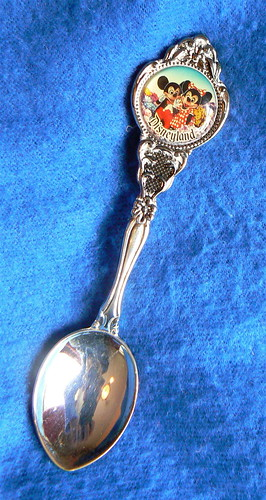 Disneyland Souvenir Spoon