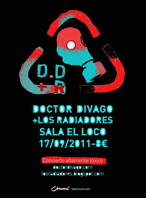 Doctor Divago y Los Radiadores en Loco Club 17 septiembre