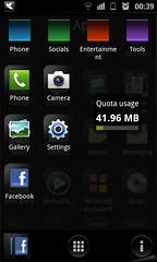 รูปภาพประกอบ#purebreeze #androidlauncher หน้า all app http://flic.kr/p/ajxK8A หน้า categoty http://flic.kr/p/ajxLWS หน้า kite เวลากด home