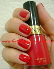 Revlon Red (Eva Super) Tags: vermelho esmalte esmaltevermelho revlonred vermelhoperfeito