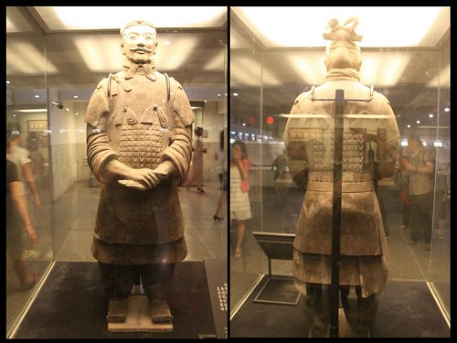 High-ranking Officer (General) at Museum of Qin Terra-cotta Warriors and Horses, Xi'an China