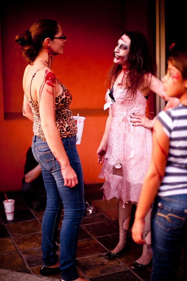 Zombie Girl Talk