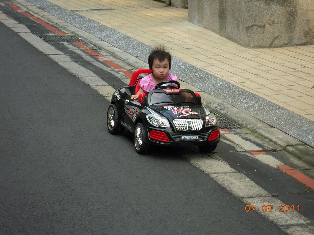 大小公主道路駕駛