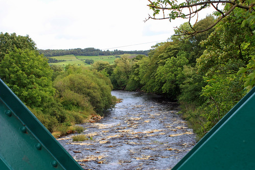 View from Wolsingham Bridge