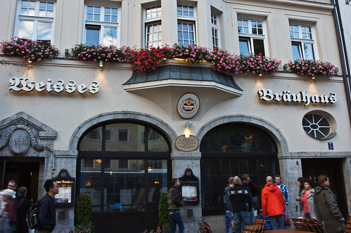 Weisses Brauhaus in Munich