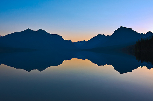 Before Sunrise, Lake McDonald, Glacier N