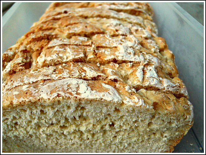 , my mother-in-law shared her recipe for English Muffin Bread ...