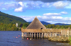 Scottish Crannog Centre (B4bees) Tags: scotland highland protection kenmore relics neolithic wildanimals scotand perthkinross scottishcrannogcentre lochlake kenmorevillage tourissm historocal